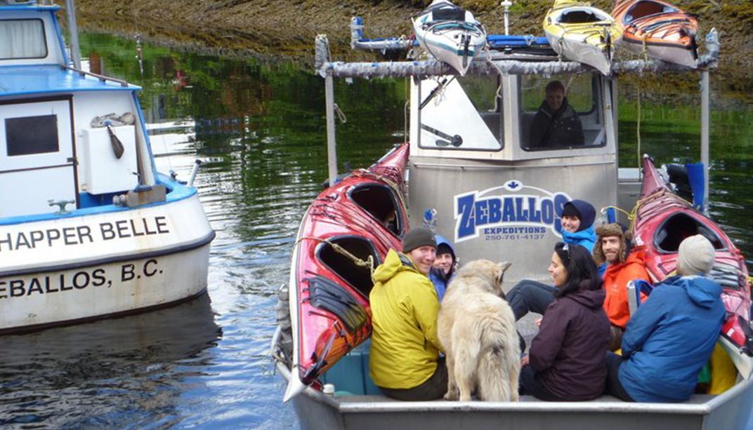 Photo via Zeballos Expeditions